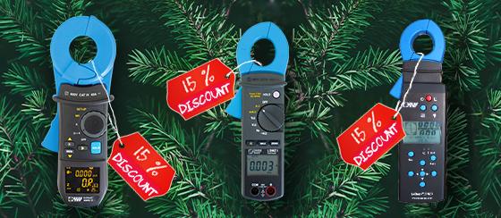EmCheck measuring clamps MWMZ II, LSMZ I, ISMZ I