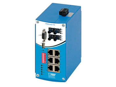 PROmesh FX Managed Switch PROFINET Indu-Sol