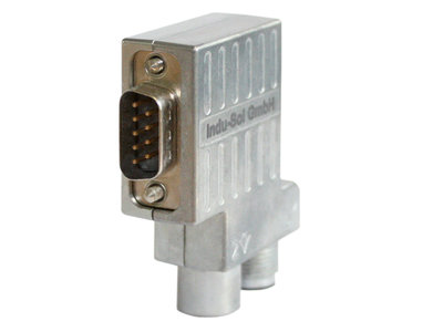 Connector M12 PG/90° compact