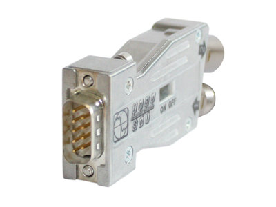 PROFIBUS Connector M12 without PG 180° axial