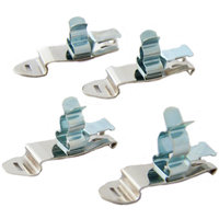 Clip system shield clamps