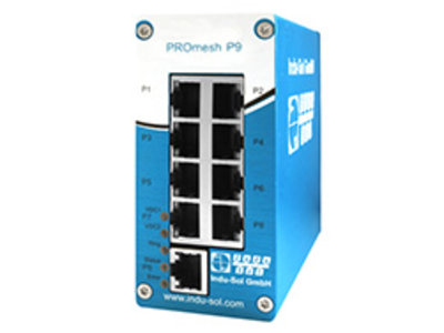 Manageable PROFINET Switch by Indu-Sol