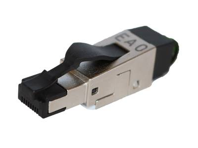 Ethernet connector rj45 configurable