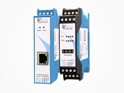 PROFIBUS INBLOX® Intelligenter Repeater - E-Kopfmodul in Kombination mit Modul DP Diag Rep