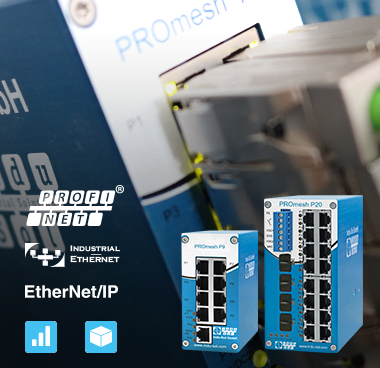 Test-Aktion Industrial-Switch PROmesh von Indu-Sol