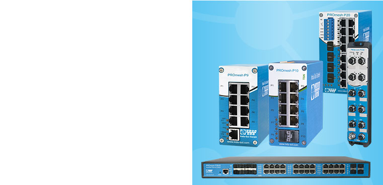 PROmesh: Industrial Ethernet Switches mit integrierter Diagnose