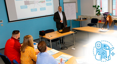 Network planning of industrial networks: further education / workshop