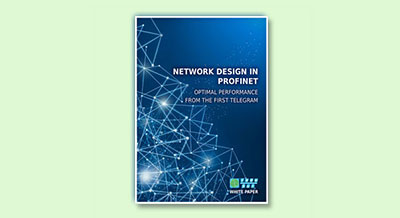 Whitepaper: PROFINET network concept - download now
