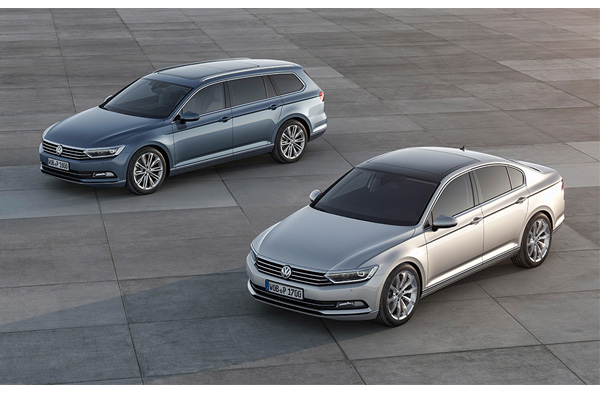 The Volkswagen factory in Emden also produces the new Passat B8