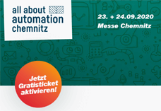 Indu-Sol Ticketregistrierung all about automation Chemnitz 2020