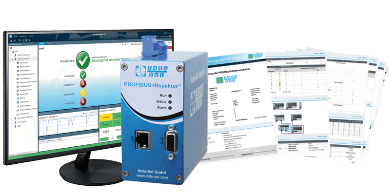 Indu-Sol delivery concept PROFIBUS monitoring