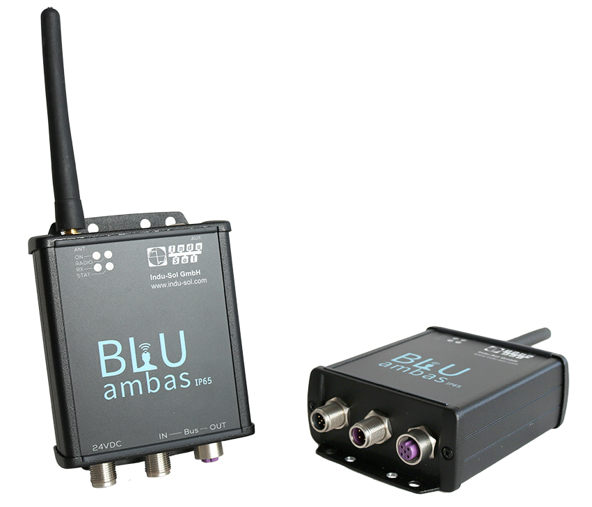 BLUambas® PROFIBUS IP65 Wireless